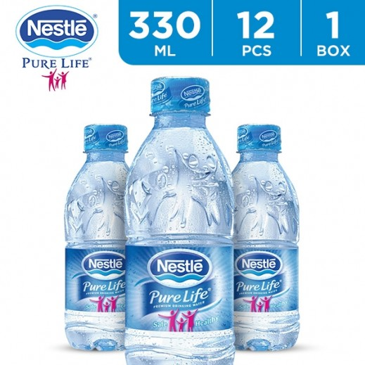 Nestle Pure Life Drinking Water 12 x 330 ml