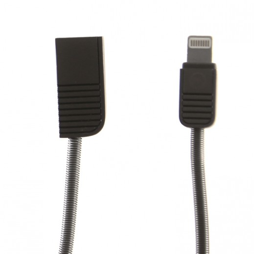 WK Design Lightning Cable for Apple Devices 1 M – Bronze