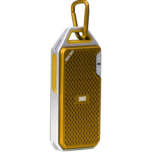 Promate Wee Robust Metallic Wireless Speaker Gold