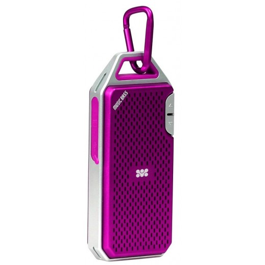 Promate Wee Robust Metallic Wireless Speaker Pink