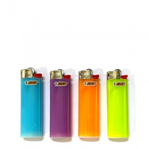 Bic Slim Lighter Assorted Color 1 Piece