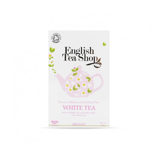 English Tea Shop White Organic Tea 20 Sachets (40 g)
