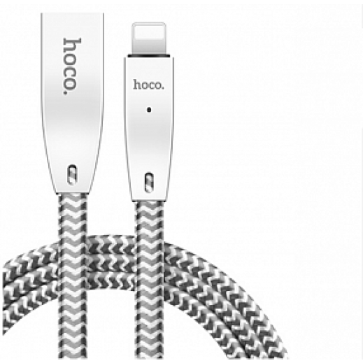 Hoco Intelligent Lightning Cable 1.2 M - White