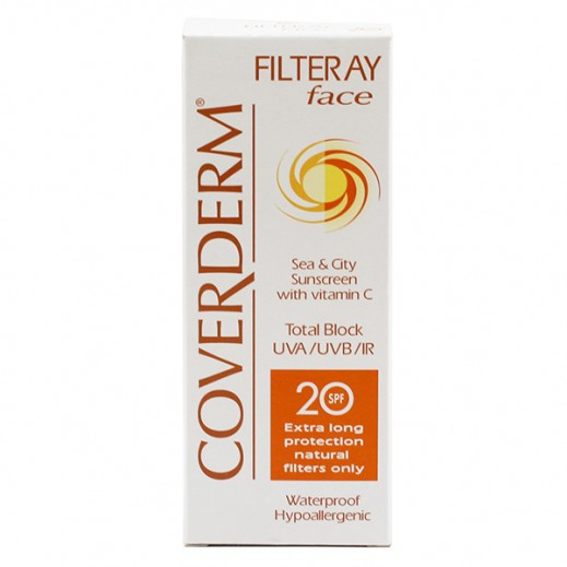 Coverderm Sunscreen Filteray Face SPF20 50 ml