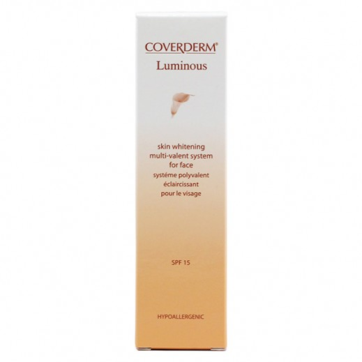 Coverderm Luminous Skin Whitening System For Face 30 ml