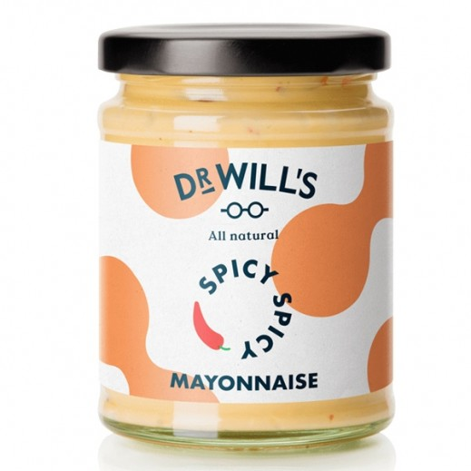 Dr. Will's Natural & Gluten Free Mayonnaise Spicy 240 g