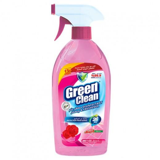 Green Clean Disinfectant & Freshener Spray Emlaq Rose 500 ml