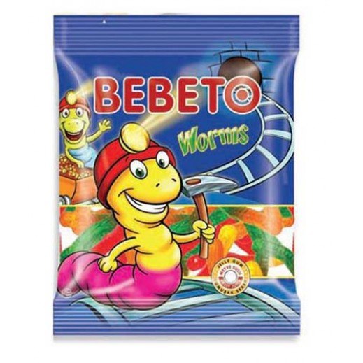 Bebeto Worms 175 g
