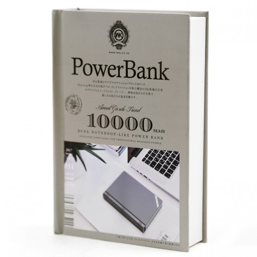 WK Design Power Bank 10,000 mAh - Grey