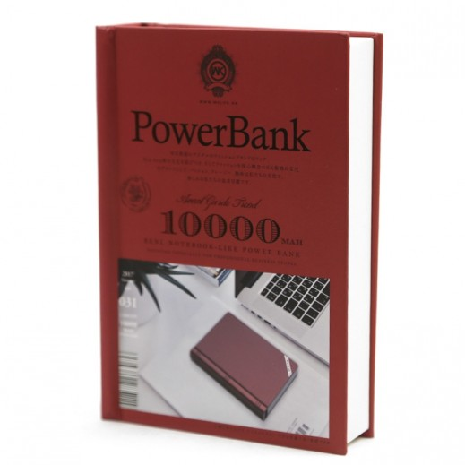 WK Design Power Bank 10,000 mAh - Red