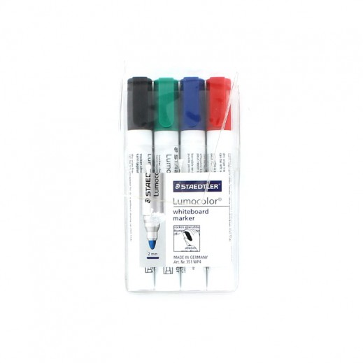Value Pack - Staedtler Whiteboard Marker 4 Color (6 pieces)