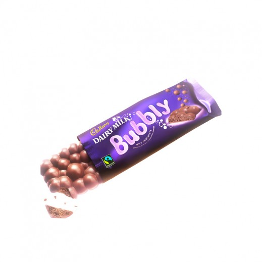 Cadbury Dairy Milk Bubbly Chocolate 28g