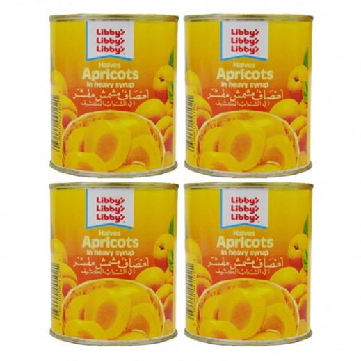 Wholesale - Libbys Apricot Halves 220 g (4 pieces)