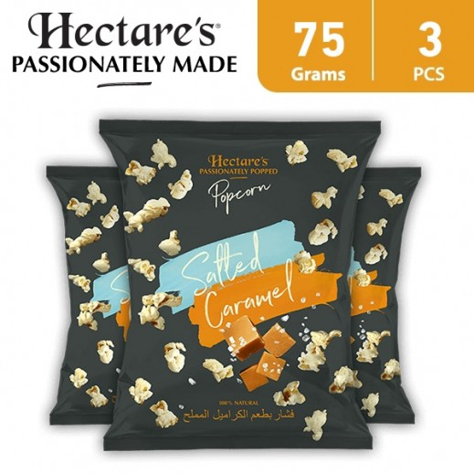 Hectare's Popcorn Salted Caramel 3 x 75 g