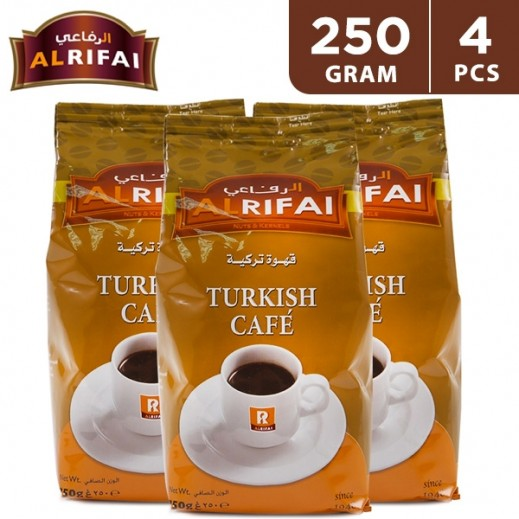 Al Rifai Turkish Coffee 4 x 250 g