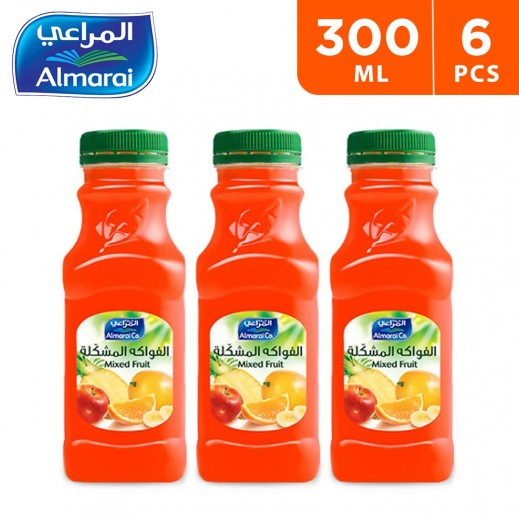 Almarai Mixed Fruit Juice 6 x 300 ml