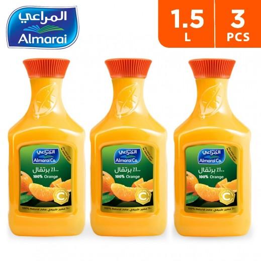 Almarai Fresh Orange Juice 3 x 1.5 L