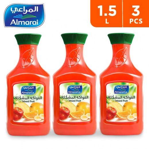 Wholesale - Almarai Fresh Mixed Fruit Juice 1.5 Ltr (3 Pieces)