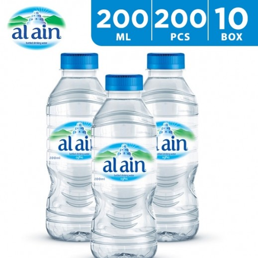 Al Ain Drinking Water 200 x 200 ml - delivered by Taw9eel Wholesale Within 6 hours