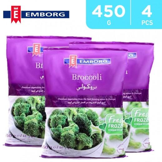 Emborg Frozen Broccoli Floret 450 g (4 Pieces)