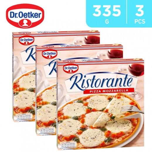 Value Pack - Dr. Oetker- Ristorante Mozzarella Pizza 335 g (3 Pieces)