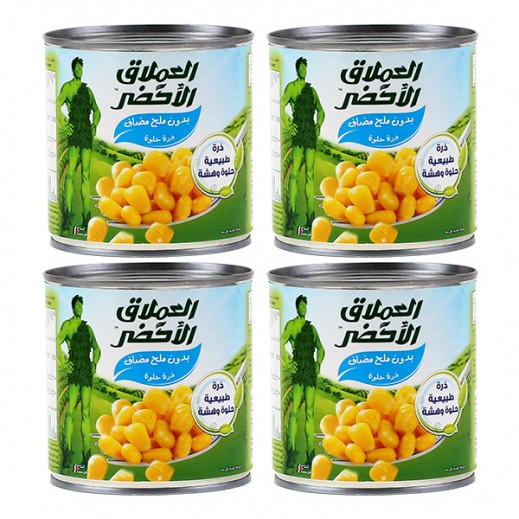 Wholesale - Green Giant Sweet Corn (No Salt) - (4 x 340g)