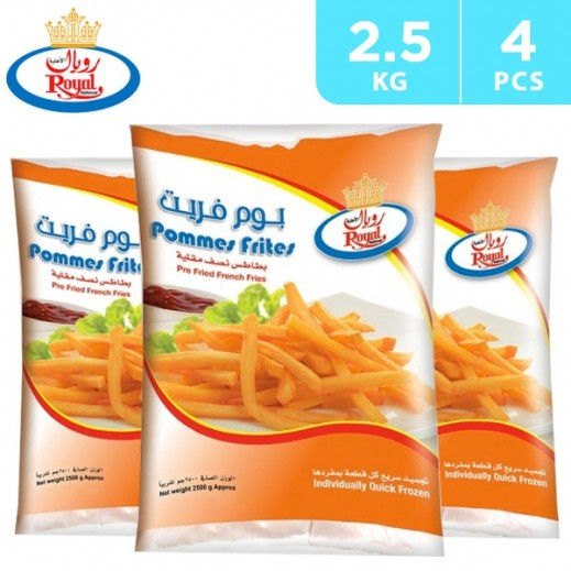 Royal French Fries 2.5 kg (4 pieces)