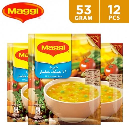 Maggi 11 Vegetable Soup 12 x 53 g