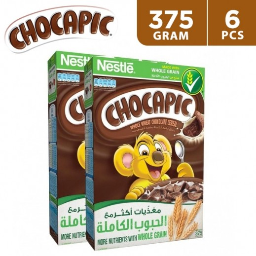 Nestle Chocapic Cereal Multipack 375 g (6 Pieces)