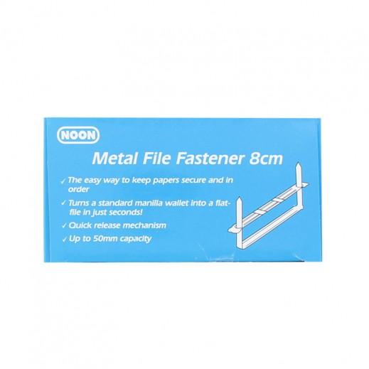 Wholesale - Noon 8cm Metal File Fastener 50 pieces (6 packs)