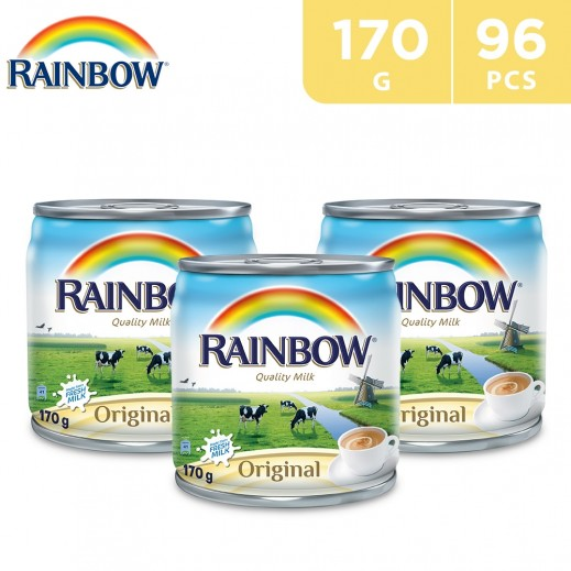 Wholesale - Rainbow Original Evaporated Milk 170 g (96 pieces)