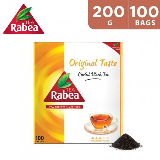 Rabea Original Taste Curled 100 Tea Bags 200 g