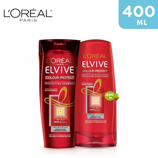 L'Oreal Elvive Colour Protect Protecting Shampoo 400 ml + Conditioner 400 ml