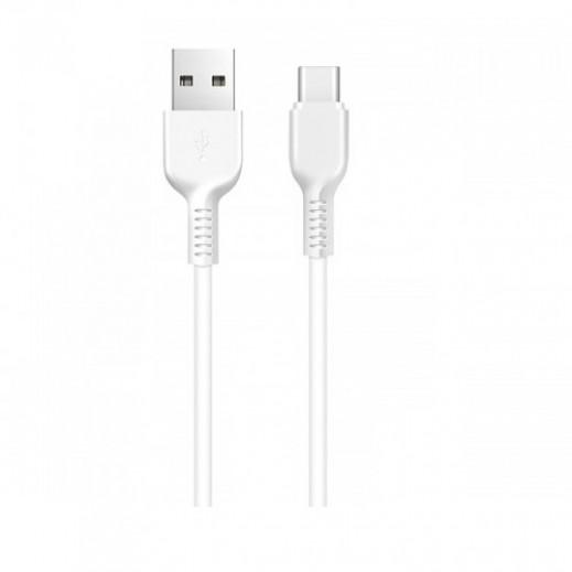 Hoco USB Type-C Cable 1m - White