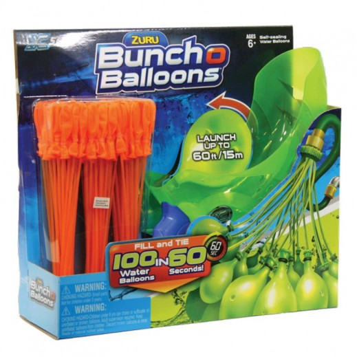Zuru Bunch O Balloons - 3 Bunches W/Launch