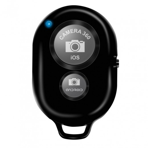 Promate Zap Wireless Camera Remote Control Black