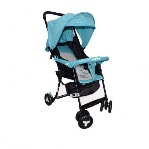 Seebaby Push Chair+ Roof  Blue