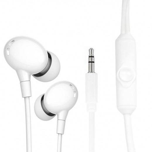 Zusen Wired Earphones - White