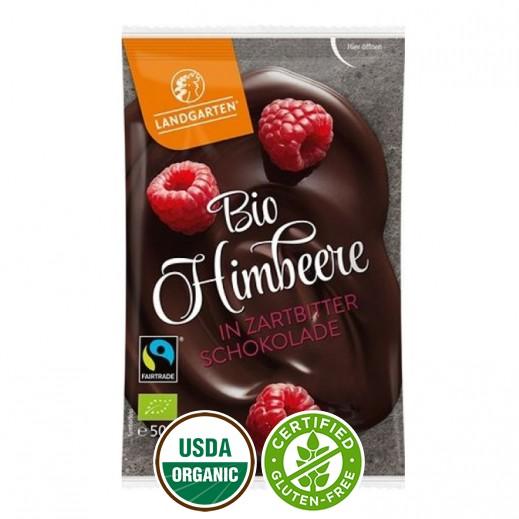 لاندرجارتن - شوكولاته عضوية مع التوت والفراولة 50 جم