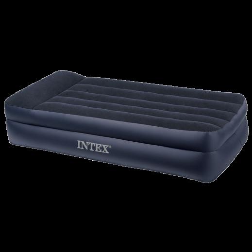 إنتكس كوين - سرير هوائي بوسادة مدمجة 99 × 191 × 42 سم
