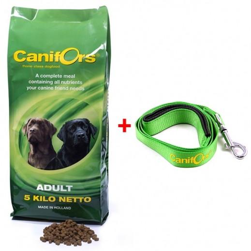كانفورس – طعام الكلاب البالغة الجاف برايم كلاس 5 كجم + حزام أخضر هدية