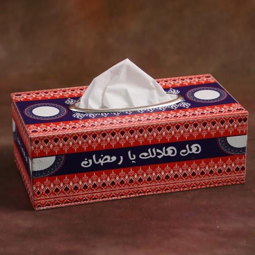 صندوق مناديل بتصميم رمضاني - أشكال متعددة