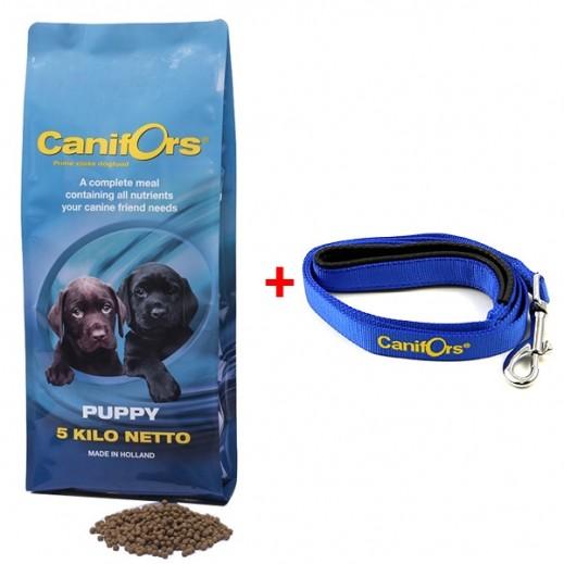 كانفورس – طعام الجراء الجاف برايم كلاس 5 كجم + حزام أزرق هدية