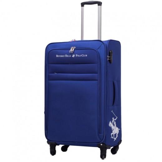 بولو - حقيبة سفر أوبتيما 4 عجلات حجم متوسط - أزرق