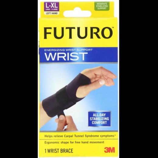 فوتورو - مشد لدعم معصم اليد اليسرى - لارج / إكس لارج