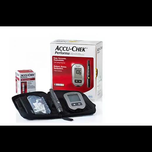 أكيوتشيك بيرفورما – جهاز قياس نسبة السكر في الدم + 50 شريط اختبار
