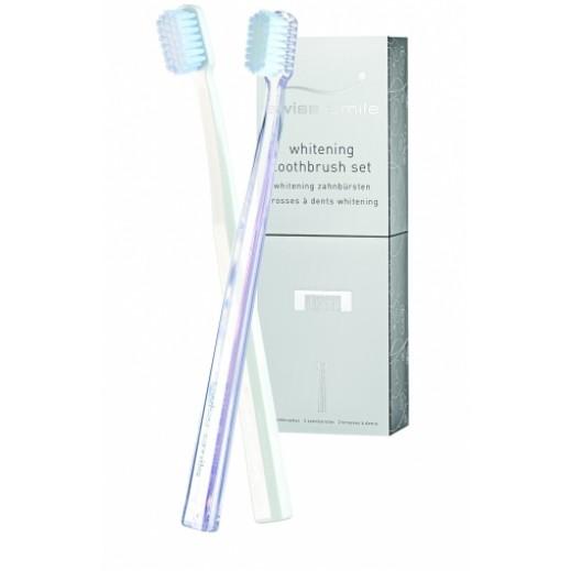 سويس سمايل – طقم فرشاة أسنان (للتبيض)