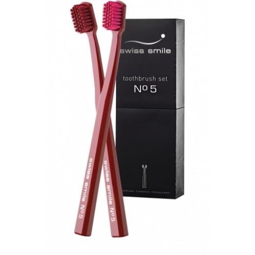 سويس سمايل – طقم فرشاة أسنان (No 5)