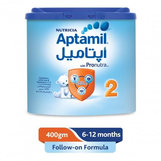 أبتاميل - تركيبة حليب لمتابعة الرضاعة مرحلة 2 (6 - 12 شهر) - 400 جم