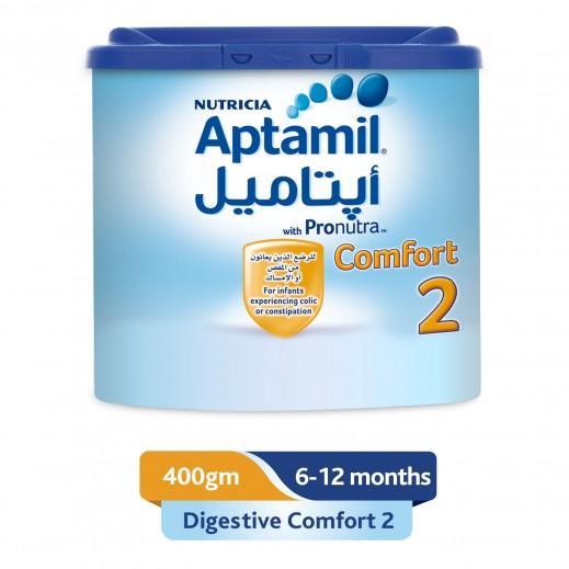 أبتاميل - تركيبة حليب كمفورت متابعة الرضاعة مرحلة 1 (6 - 12 شهر) - 400 جم